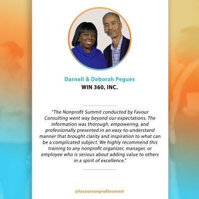 Darnell & Deborah Pegues - Testimonial