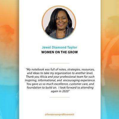 Jewel Diamond Taylor - Testimonial
